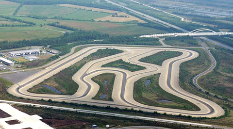 HAK on ATP proving ground in Papenburg - modified to make clear which track layout will be used!