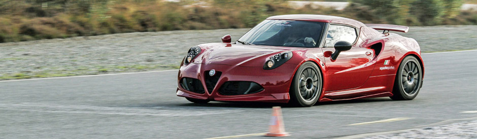 Novitec 4C on track in Papenburg,