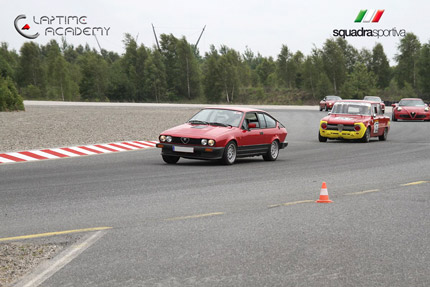 Alfa Romeo track day in Papenburg Germany